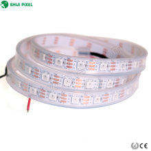 rgb ws2812b 60 leds / m SK6812 ic pixel Tira flexible led direccionable digital a todo color